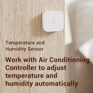Image 5 - Stokta Mi jia Aqara sıcaklık Hu mi kir sensörü akıllı sensör ZigBee Wifi kablosuz MI akıllı ev için Mi ev App uzaktan kumanda
