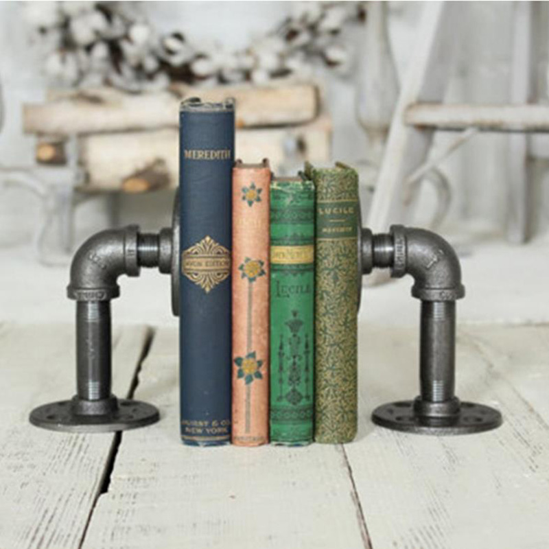 Decoration, Bookend, Steel, Tube, Metal, Industry