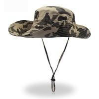 2018 New Arrival Bucket Hat Bonnie Hunting Fishing Cap - Wide Brim Military Bonnie Hats