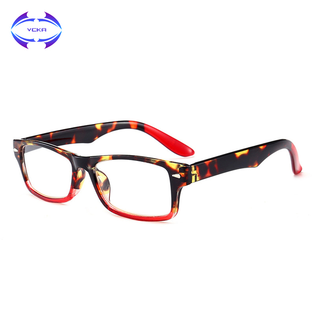 VCKA Womens Mens Round Lens Hyperopia Presbyopia Reading Glasses Stylish Spring Hinged Reading Glasses +1.0 1.25 1.5 to 4.0