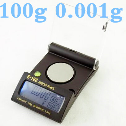 ФОТО 100g x 0.001g High Precision  Electronic digital Balance Touch Screen Jewelry Diamond Gem Carat Scale with backlight