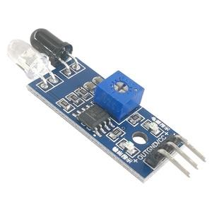 Image 4 - MCIGICM 200pcs Smart Car Robot Reflective Photoelectric 3pin IR Infrared Obstacle Avoidance Sensor Module for arduino Diy Kit