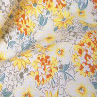 50x145cm Romantic Pink Chrysanthemum Flower Printed Cotton Poplin Fabric For DIY Sewing Bedding Quilting Clothing