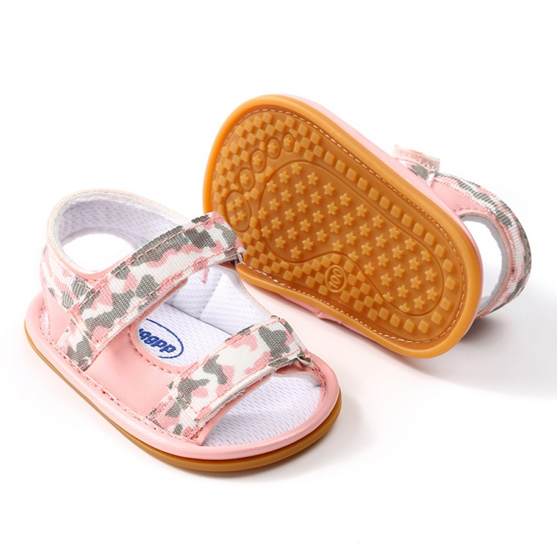 Summer Breathable Baby Boys girls shoes Kids Camo Hollow Out Anti-skid Casual Baby Cack Shoes 2018 New hot sale