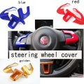 steering wheel cover sticker decoration for Volkswagen VW Jetta new POLO Bora GOLF 6 New Santana Wholesale