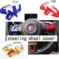 steering wheel cover sticker decoration for Volkswagen VW Jetta new POLO Bora GOLF 6 New Santana Wholesale