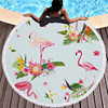 Round Patterned Beach Towel - Cover-Up - Beach Blanket 26