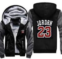 wholesale Brand 23 Men Sportswear Brand Fashion Print Mens Hoodies Hip Hop Pullover Mens Tracksuit Sweatshirts