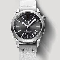 Новое поступление yelang v1010 Обновление версии T100 Тритий зеленый световой Водонепроницаемый леди Для женщин моды кварцевые часы наручные часы