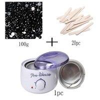 Depilation Beauty Hands 220 240V Electric Hair Removal Bean Wiping Sticks Hot Wax Warmer Heater Pot