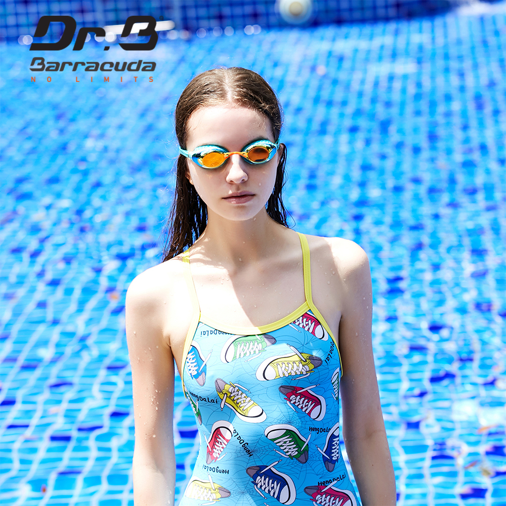 Barracuda Dr.B Optical Swimming Goggles Corrective Lenses UV Protection Women for Adults #93590 scubapro flux twin mask have optical lenses