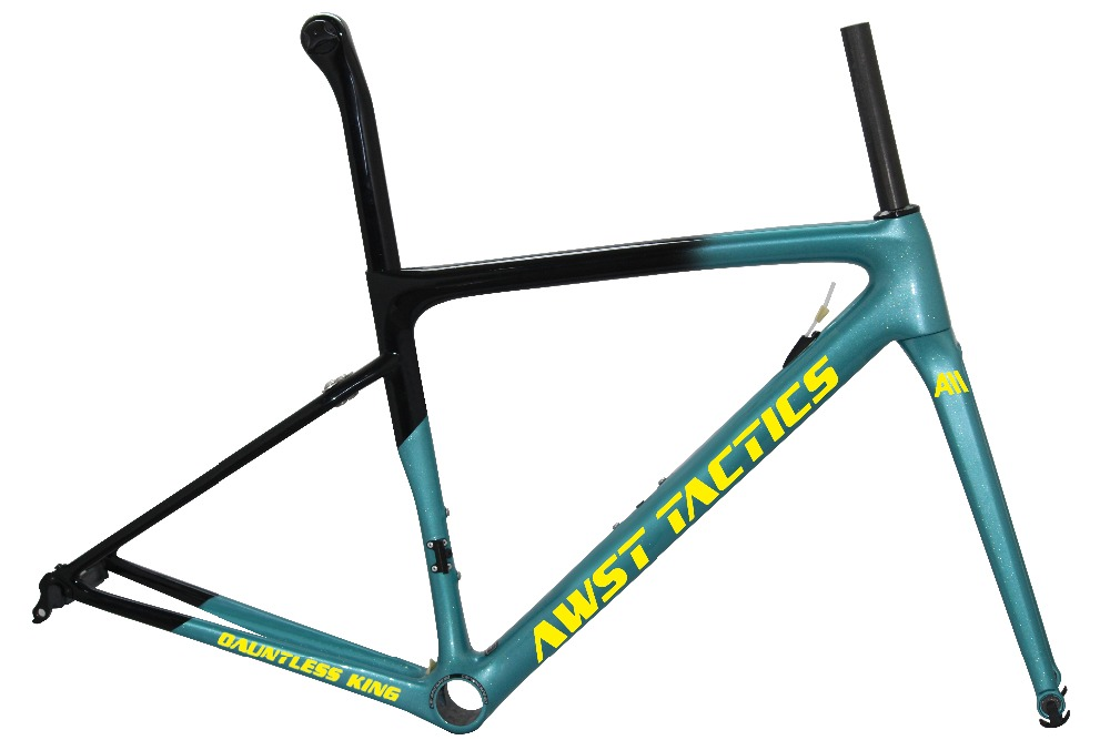 Aero Gravel carbon road frameset carbon road bike frames bike 700C V brake DI2 cycling road frame road bike frame bicycle wheels