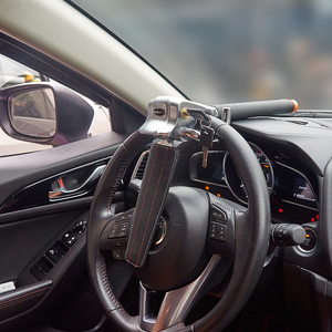 Image 3 - Volante di Blocco Pieghevole Anti Furto di Sicurezza Serrature di Auto Auto Volante di Blocco