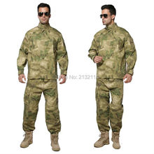 Tactical Training ACU Style A TACS FG Camouflage Uniform Army Airsoft Combat Outdoor Activities Hunting Clothing