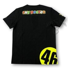 Kodaskin Free Shipping 100% Cotton MOTOGP Doctor T-shirt Rossi VR 46 T-Shirt Summer Motorcycle T-Shirt Casual Sports T-shirts