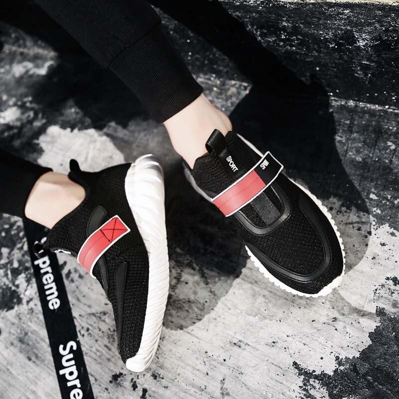 Respirant Adulte Mode Mâle Printemps 427 Ww Pour Masorini Automne Mesh Casual De Noir rouge Sneakers Chaussures Hommes blanc Air Tendance Confortable WPwOqI