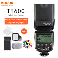 Godox TT600 2.4G Wireless GN60 Master/Slave Camera Flash Speedlite for Canon Nikon Sony Pentax Olympus Fuji Lumix