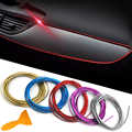 5 meter/roll universal 5M flexible trim moulding strip decoration Collision strips car styling mercedes benz w211 accessories