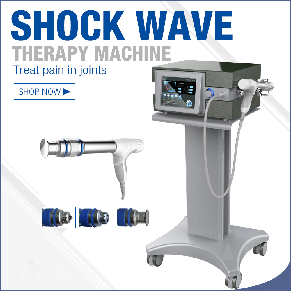 2000000 Shots Shock Wave Therapy Machine/Shock Wave Therapy Machine/Extracorporeal Shock Wave Therapy German Imported Compressor