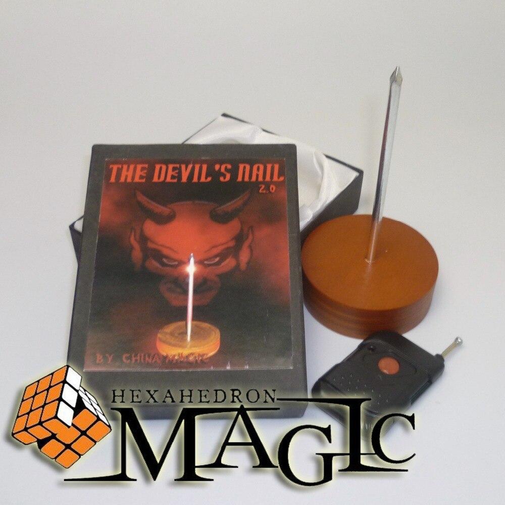 Livraison gratuite Devils Nail2.0-magie de scène, mentalisme/gros plan rue produits de tours de magie professionnels salon Standard, scène