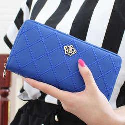 Модные женские Для женщин кожаный клатч бумажник длинный держатель для карт Чехол Сумочка Лидер продаж