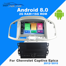 4G RAM Android 8 0 Car DVD Player GPS font b Multimedia b font For Chevrolet