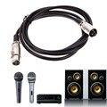 Оптовая XLR микрофонный кабель линия Экранированный 3 Pin XLR Мужчин и Женщин Микрофонный Аудио удлинитель 1.8/3/4.5/5/6/7.6/8/10 м