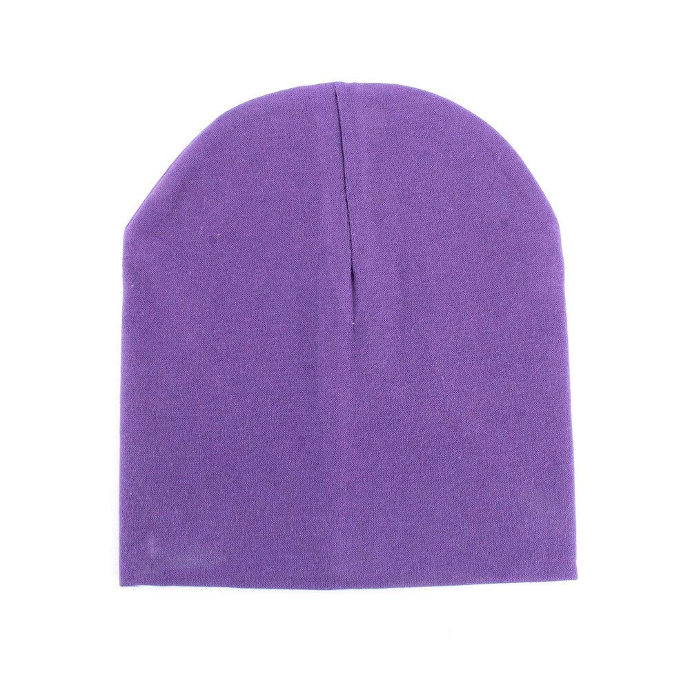 Şeker Renkler Toddler Bebek Erkek Kız Pamuk Sıcak Yumuşak Tığ Sevimli Şapka Cap Beanie Sıcak Satış