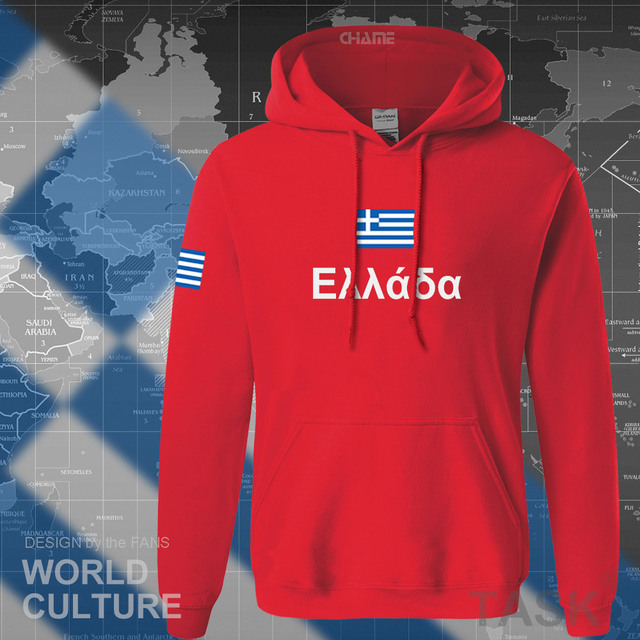 Greece hoodies men sweatshirt sweat new hip hop streetwear socceres jerseyes footballer tracksuit nation Greek flag Hellas GR 3