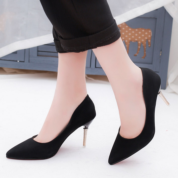 aliexpress buy gold heeled pumps pointed toe