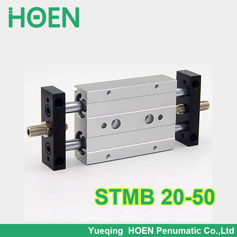 STMB 20-50 HIGH QUALITY Airtac Type Dual Rod Pneumatic Cylinder/Air Cylinder STMB Series STMB20*50 STMB20-50 cxsm10 10 cxsm10 20 cxsm10 25 smc dual rod cylinder basic type pneumatic component air tools cxsm series lots of stock