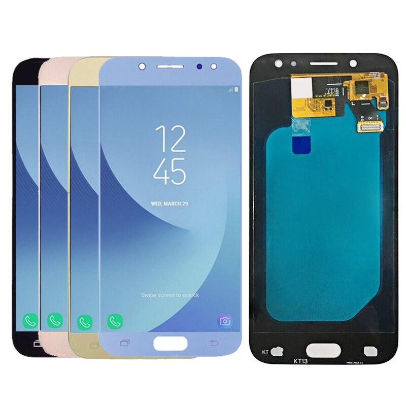 Amoled écran LCD + écran tactile ensemble de digitaliseur pour samsung Galaxy J5 2017 J530 J530F SM-J530F LCD Livraison Gratuite