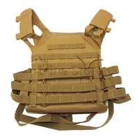 Outdoor Sports Outdoor Military Body Combat Assault Waistcoat Tactical Molle Vest Plate Carrier Vest
