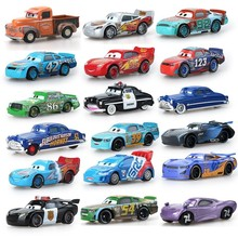 Disney Pixar Toys For Kids Lightning Mcqueen High Quality Plastic Cars Cartoon Models Christmas Gifts And Friends