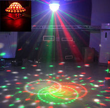 Новый DMX512 RG Лазерный Гобо Огни Смешанный Цифровой RGBYPW СВЕТОДИОДНЫХ Кристаллов большой Магический Шар Диско-Бар DJ КТВ Партия Главная Освещение Сцены