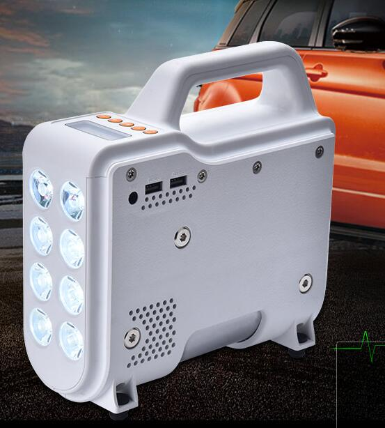 Car Multifunction Digital Pump Jump Starter With Powerful Led Light Power Bank