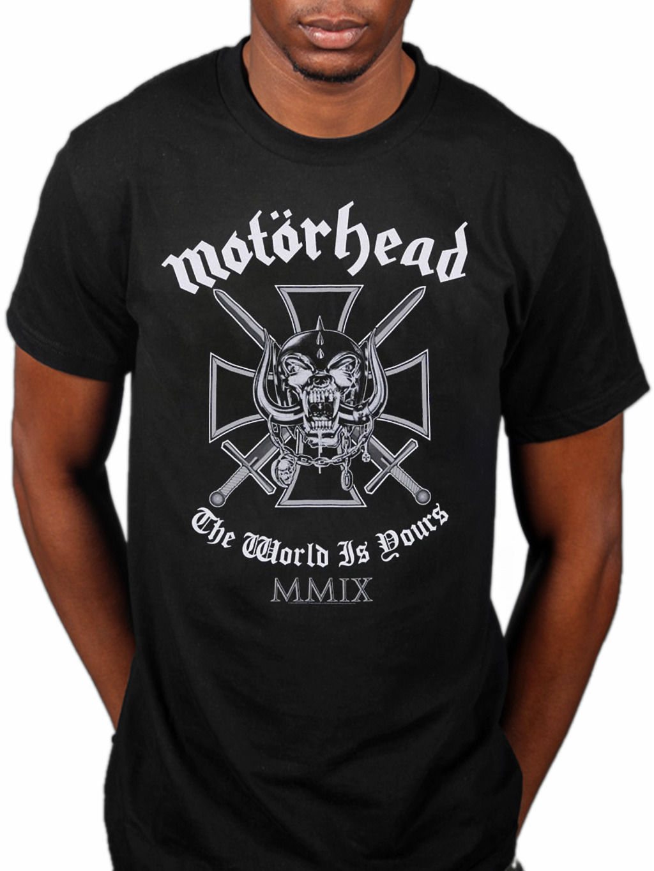 NEW /& OFFICIAL! T-Shirt Black Motorhead /'Pocket Logo/'