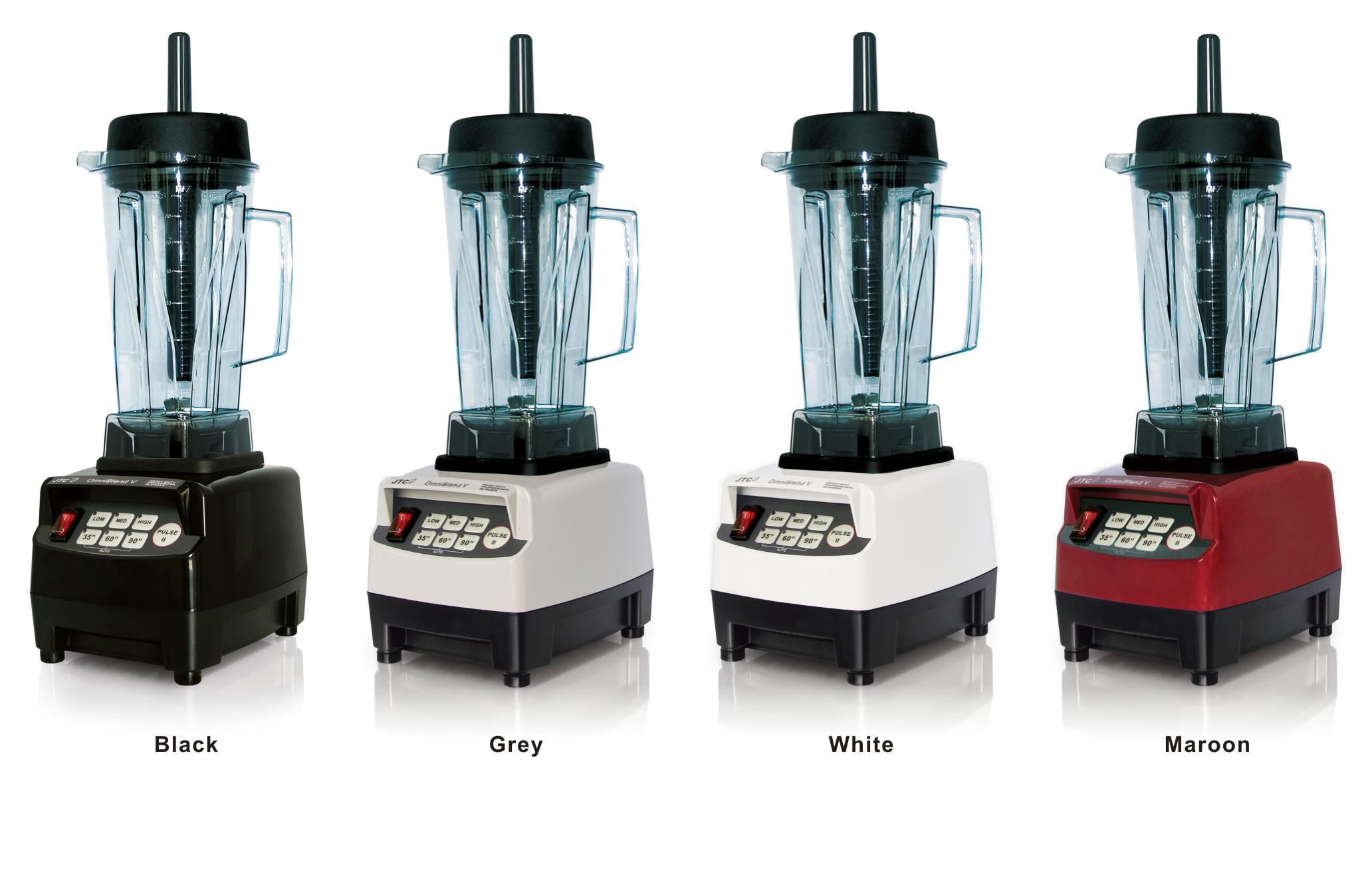 Polyvalent JTC mélangeur commercial, Modèle: TM-800, Noir, LIVRAISON GRATUITE, 100% GARANTI PAS. 1 QUALITÉ DANS LE MONDE.