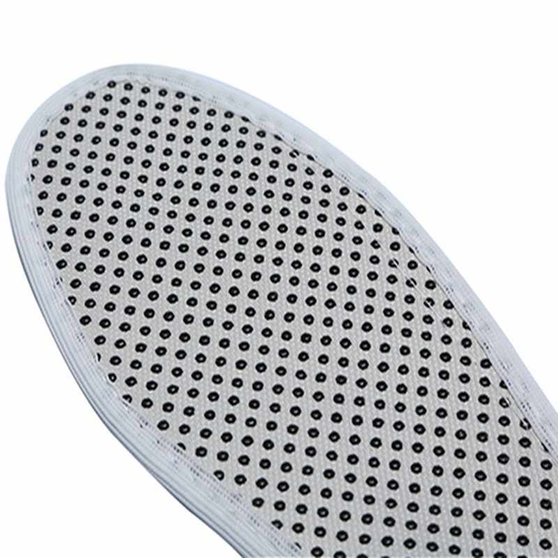 暖かいリフレクソロジーインソール冬底靴インソール加熱された自己発熱インソール天然トルマリン自己発熱インソール