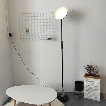 Modern  Torchiere LED Floor Lamp Living Room Luminaire Bedroom Vertical Lamp Standing Lamps Office Tall Fixtures Led Lighting