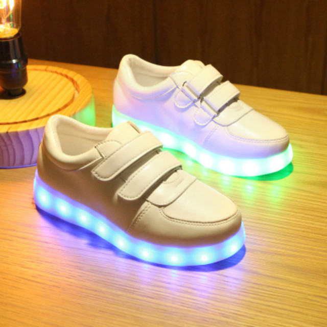 890d65be8 Led Luminous Shoes Glowing Children Sneakers Baby Boys Girl Fashion Light Up  Casual kids 7 Colors USB Charge LED Simulation Sole