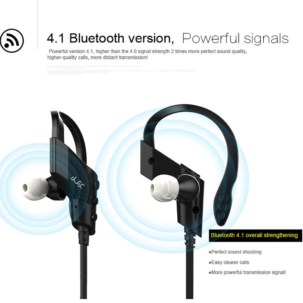 Sports Bluetooth Headphones Original S-501 Waterproof Sweatproof Ear Hook Wireless Earphone CSR 4.1 HiFi Headset