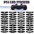 40pcs/lot awesome PS4 controller led light bar decal sticker cover for Sony Play Station 4 dual shock 4 free shipping