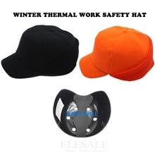 Zimowe termiczne bezpieczeństwo pracy kask kask czapka bejsbolówka styl ochronny ciepły kask do pracy nosić ochrona głowy