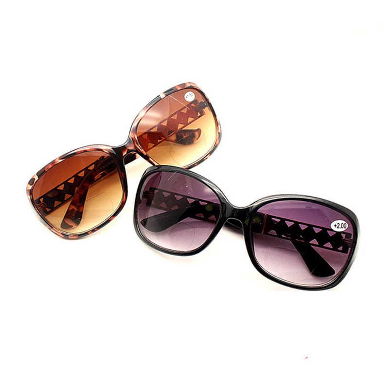 eb0e1e24db ... Multifocales gafas de lectura gafas de sol de las mujeres mira cerca de  lejos los lentes