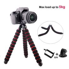 Camera Mini Tripod Gorillapod Type Monopod Flexible Leg Load-Bearing to 5KG for iPhone Sony Samsung Digital Holder