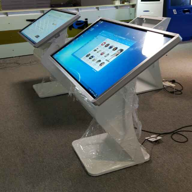 DIY Shopping Mall Standalone Floor Map Guide Table Touch Lcd Advertising Screen Digital Kiosk With CPU I3/i5 RAM 4GB PC Built In