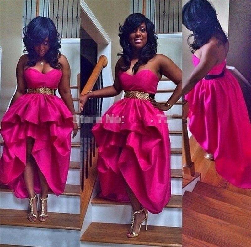 Online Get Cheap Short Hot Pink Prom Dress -Aliexpress.com ...