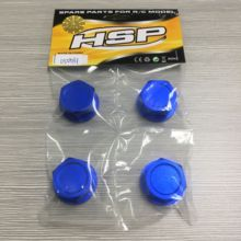 hsp racing rc car spare parts accessories upgrades 050031 aluminum nuts for 1/5 scale off road rc cars 1pair 1 5 lt gasoline truck front shock absorber 87081 spring adjustable anti collision bar for 1 5 rc cars modified upgrades