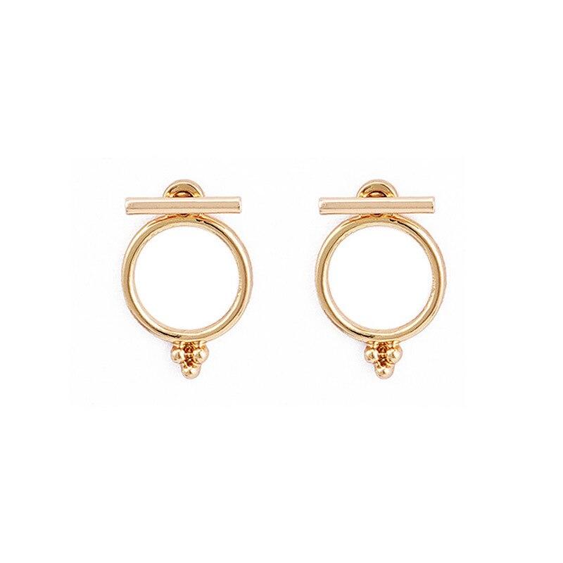 Earrings Rscvonm Cute Minimalist Vintage Plated Gold Shell Stud Earrings For Women Girls Maxi Jewelry Romantic Wedding Bridal Accessaries